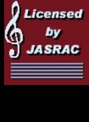 JASRAC許諾番号 9025019001Y45037
